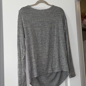 grey lose fitting top!
